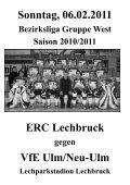 VfE Ulm/Neu-Ulm - ERC Lechbruck - Seite 3