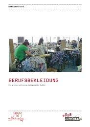 BerufsBekleidung - Erklärung von Bern