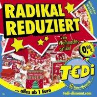 TEDi Radikal Reduziert