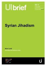Syrian Jihadism by Aron Lund
