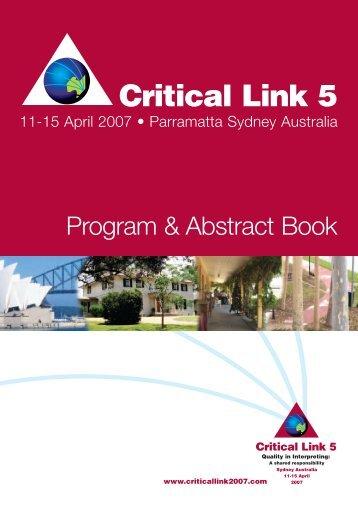 Critical Link 5 - Critical Link Canada/Maillon Essentiel Canada