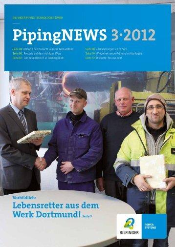PipingNeWS 3·2012 - Bilfinger Piping Technologies