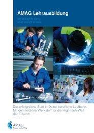 AMAG Lehrausbildung - Austria Metall AG