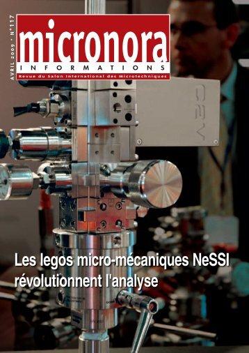 Les legos micro-mécaniques NeSSI révolutionnent l ... - Micronora