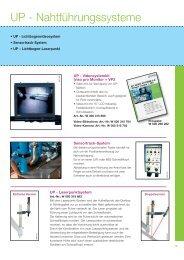 UP - Nahtführungssysteme - Oerlikon