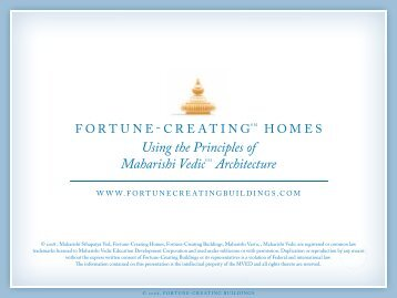 Using the Principles of Maharishi VedicS M Architecture