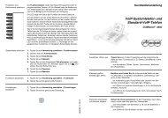 Kurzbedienanleitung COMfortel 3500 - Sipgate