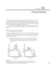 10: Enzyme Kinetics - University Science Books