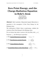 Zero Point Energy and the Charge-Radiation Equation