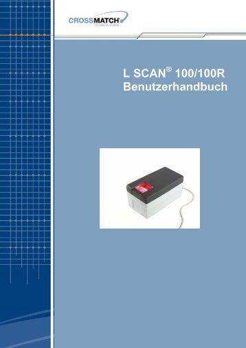 L SCAN 100/100R Benutzerhandbuch - Bromba GmbH