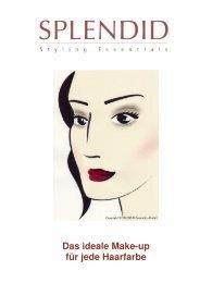 SPLENDID FaceCharts_AUSZUG - SPLENDID Cosmetics GmbH