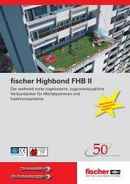 fischer Highbond FHB II - Schrauben-Bauer