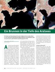 Ein Brunnen in der Tiefe des Aralsees (PDF