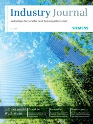 Industry Journal - Siemens
