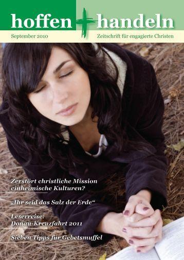 hoffen handeln - Evangelische Vereinigung für Bibel und ...