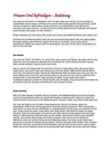 Frauen Oral befriedigen - Anleitung - eBooks und Software ...