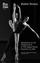 Polyphonia - The National Ballet of Canada