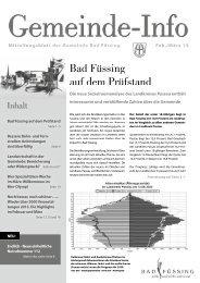 Februar / März - Bad Füssing