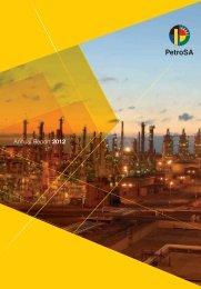 Annual Report 2012 - PetroSA