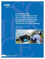 Proceeding of the Environmental Behavior and Decision-Making ...