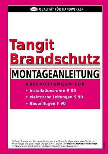 Tangit Brandschutz-Konzept - Henkel