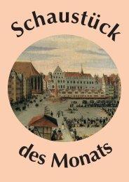 Schaustück: Lorenz Strauch: Der Markt zu Nürnberg - Museen der ...