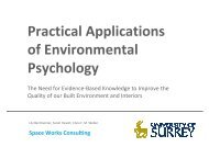Practical Applications of Environmental Psychology - The Building ...