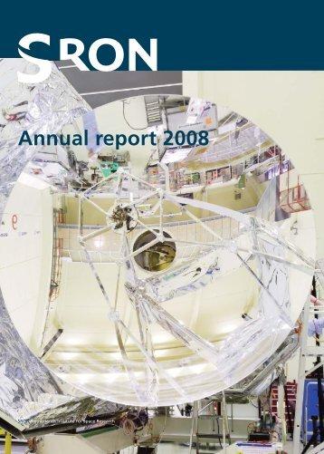 SRONJaarverslag 2008