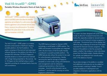 Vx610-trueID-GPRS
