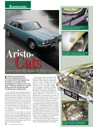 Technische Daten: Jaguar XJ Serie 1, 2, 3 - Jaguar Club of Denmark