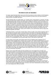 Geschichte 2 - Die kleinen Leute von Swabedoo - st. viner nüziders