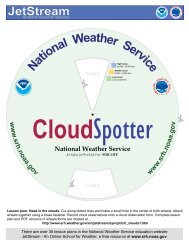 Lesson plan: Head in the clouds - National Weather Service ...