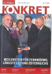 www.st-poelten.gv.at Nr. 1 1 /2009
