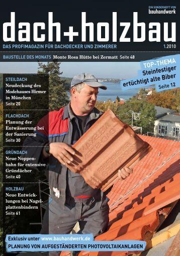 BAUSTELLE DES MONATS Monte Rosa Hütte bei ... - Bauhandwerk