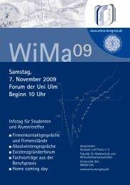 WiMa 09 Kongress-Broschüre