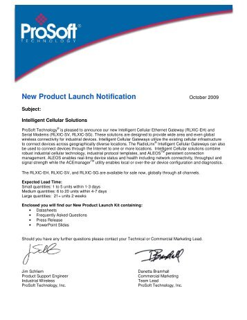 New Product Launch Notification - Winkle Electric Company, Inc.