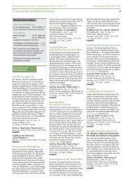 Gesundheit und Heilmethoden - vhs Hannover Land