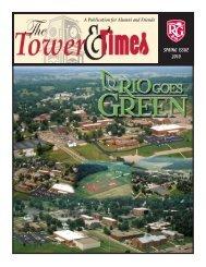 Tower & Times Spring 2010 - University of Rio Grande