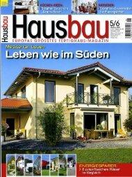 Hausbau 05-06/2009 - Fertighaus Weiss GmbH