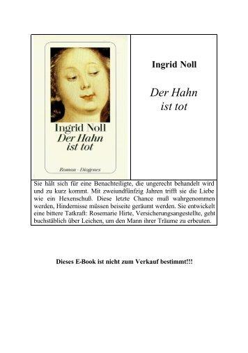 Noll Ingrid — Der Hahn ist tot - Deutscher Klub