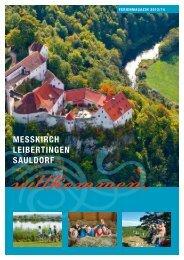 Ferienmagazin 2013/2014 - Leibertingen