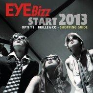 OPTI '13 | BRILLE &CO - SHOPPING GUIDE - eyebizz