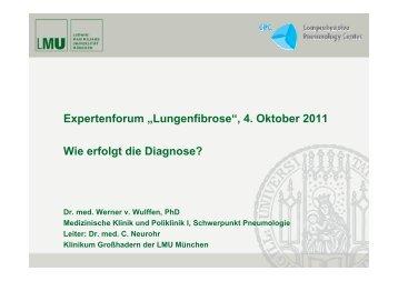 """Expertenforum """"Lungenfibrose"""" - Lungeninformationsdienst"""