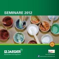 Prospekt Seminare 2012 - Paul Jaeger GmbH & Co. KG