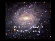 Milky Way Galaxy n- Part 2 of 3