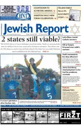 2 states still viable? - South African Jewish Report