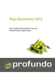 Soja Barometer 2012 Een onderzoeksrapport voor de Nederlandse ...