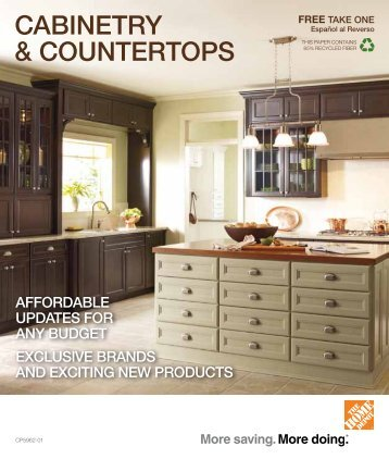cAbiNETRy & cOUNTERTOps - Home Depot