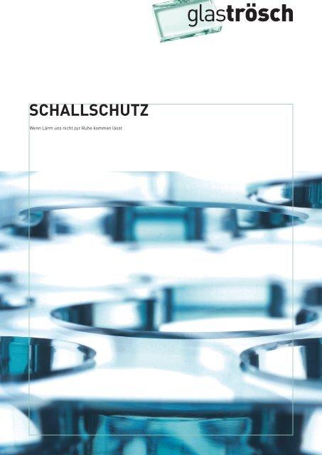 In die zukunft investieren – mit schallschutz - Bresga Innenausbau AG