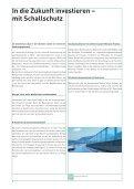 In die zukunft investieren – mit schallschutz - Bresga Innenausbau AG - Page 6